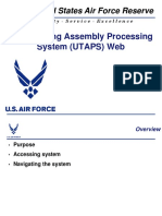 Air Force Reserve UTAPS Guide