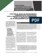 Pad Por Presentacion de Documento Falso en El Marco Del Proceso De