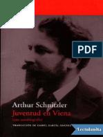 Schnitzler, A. - Juventud en Viena.pdf