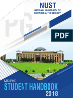 Student Handbook (PG) 2018