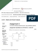 Basic Electric Circuits - - Unit 4 - Mesh and Node Analysis
