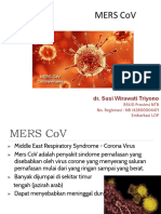 5. MERS CoV - Dr Susi Wirawati