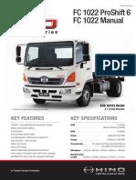 Hino FC 1022 Service Manual