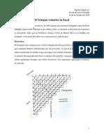 Triángulo Aritmético Fernando