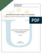Formato Unico_Politica Agraria y Ambiental