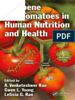 Rao, A. Venketeshwer_ Rao, Leticia G._ Young, Gwen L - Lycopene and Tomatoes in Human Nutrition and Health-CRC Press (2018)