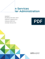 Vsphere Esxi Vcenter Server 651 Platform Services Controller Administration Guide