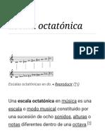 Escala Octatónica - Wikipedia, La Enciclopedia Libre