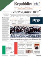 Prime pagine dei giornali, rassegna stampa del 24 novembre 2019