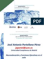 Neuroeducacion y Funciones Ejecutivas en El Aula Jose Antonio Portellano...