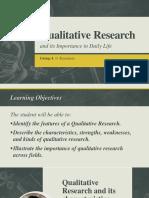 Qualitative Research ppt