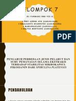 Kelompok 7 s1-Farmasi VIID