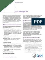 Fact Sheet Menopause (1)