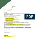 Authorization Letter Pro-Forma