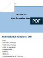 Chapter 47 Lipid Lowering Agents
