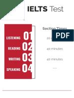 IELTS 2 Hour - Placement Test