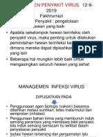 Pencegahan Infeksi Virus Dan Vaksinasi