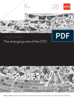 Changing Role of CFO