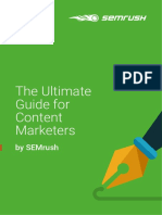 Ultimate Guide Content Marketers Semrush 2.0