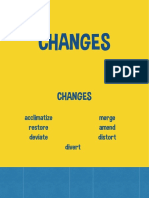 Changes Slides
