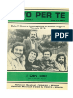 Vivo Per Te DikDik 1970
