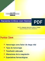 PACIENTE-CRITICO-CON-HEMORRAGIA-GRAVE_2011_2012.ppt