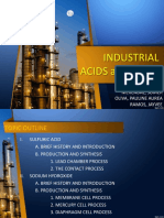 Industrial Acids and Bases