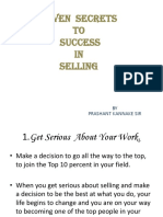 Seven Secrets of Selling