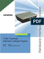 Siemens TC65 Terminal GSM