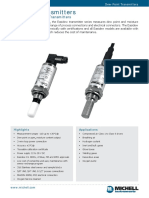 Easidew Transmitters 97554 UK Datasheet