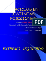 [lo+bm] Ejercicios por posiciones (Balonmano).ppt