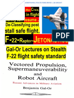Gal-Or Lectures on Stealth Jetonautics v. Aerodynamics, Strike Drones v. Fighter Aircraft