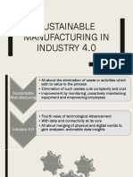 Sustainable and Lean Manufacturing