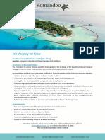 Vacancy Ad - Crew - 241119