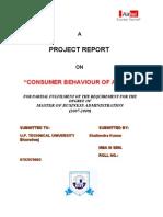 22463913 Consumer Behaviour of Airtel New