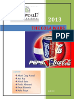 Pepsi and Coke_A comparative study
