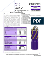 Pred-O-Tor 7 000 Casing x 8 300 OD Single Valve L80 29ppf Tenaris Blue