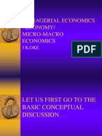Macro Economy and Micro economy
