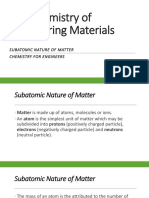 Chemistry of Engineering Materials