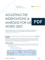 How to Use Margins in Microsoft Word 2007 (WIN)