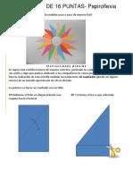 Estrella de Papiroflexia
