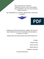 Informe Hojas Preliminares