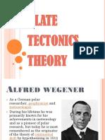 Science Report - Plate Tectonics