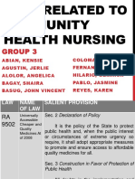 Laws related to community health nursingBASUG.pptx