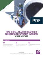 Digital Transformation Aerospace White Paper