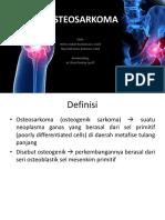 ppt referat osteosarkoma