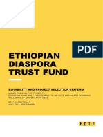 Edtf - Eligibility and Project Selection Criteria