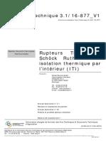 rupteur thermique