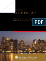 Law Policy Brochure