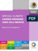 Executive Summary Special Climate Change Program 2009-2012 Mexico